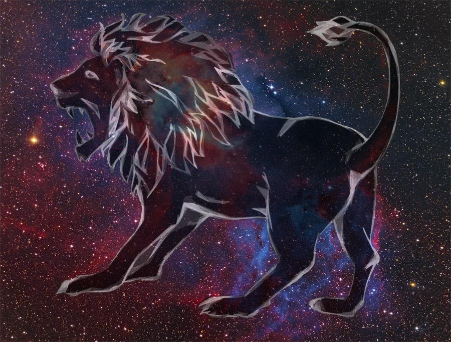 lion rajz