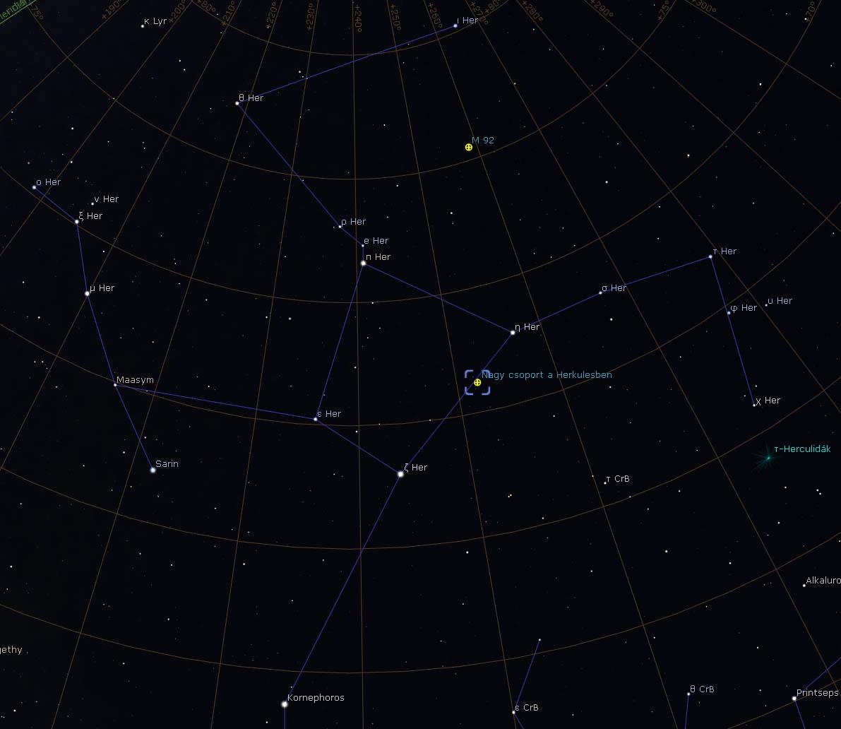 M13 térkép