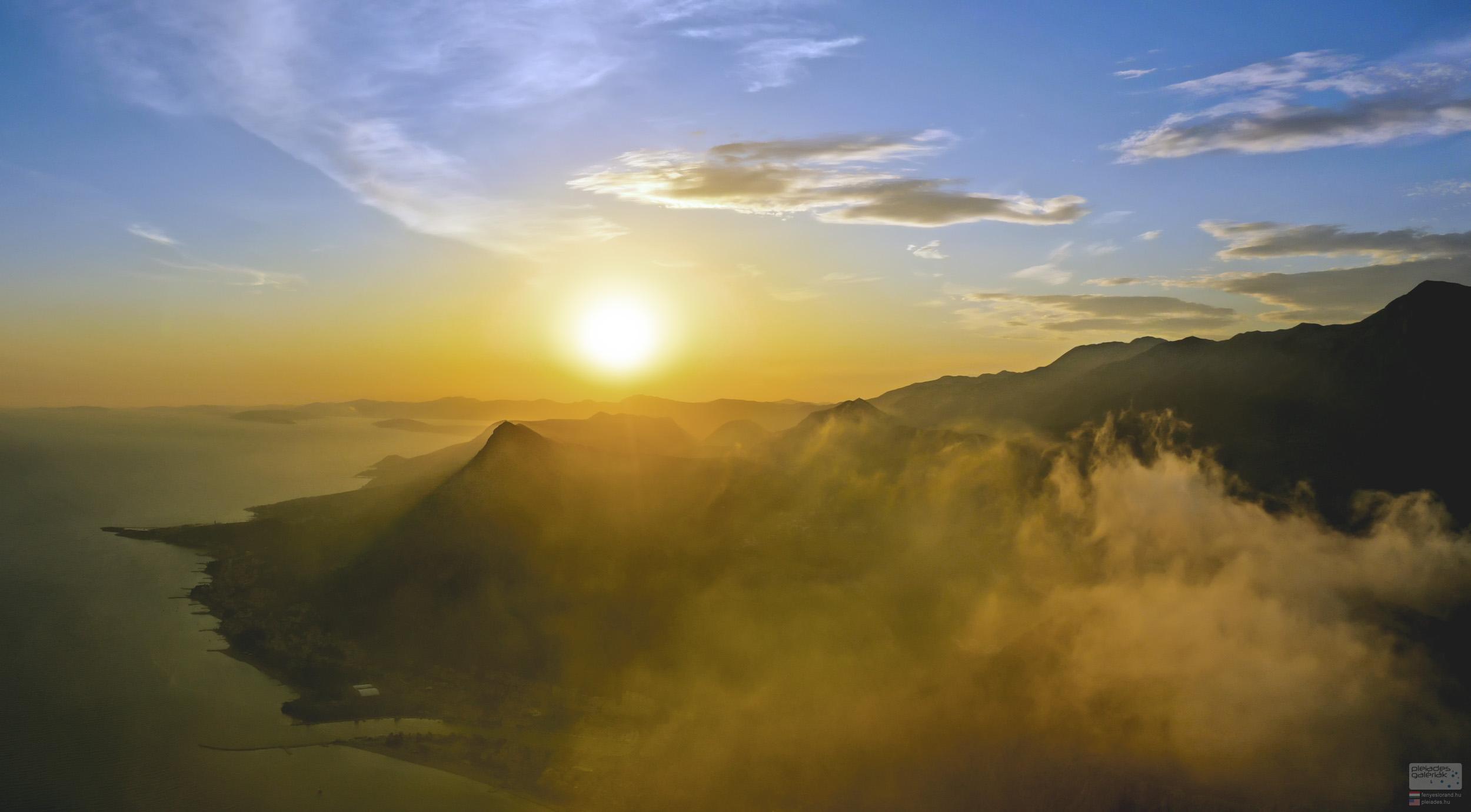 Dalmácia felett az ég